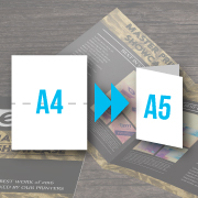 Brochures A5 size 4 pages