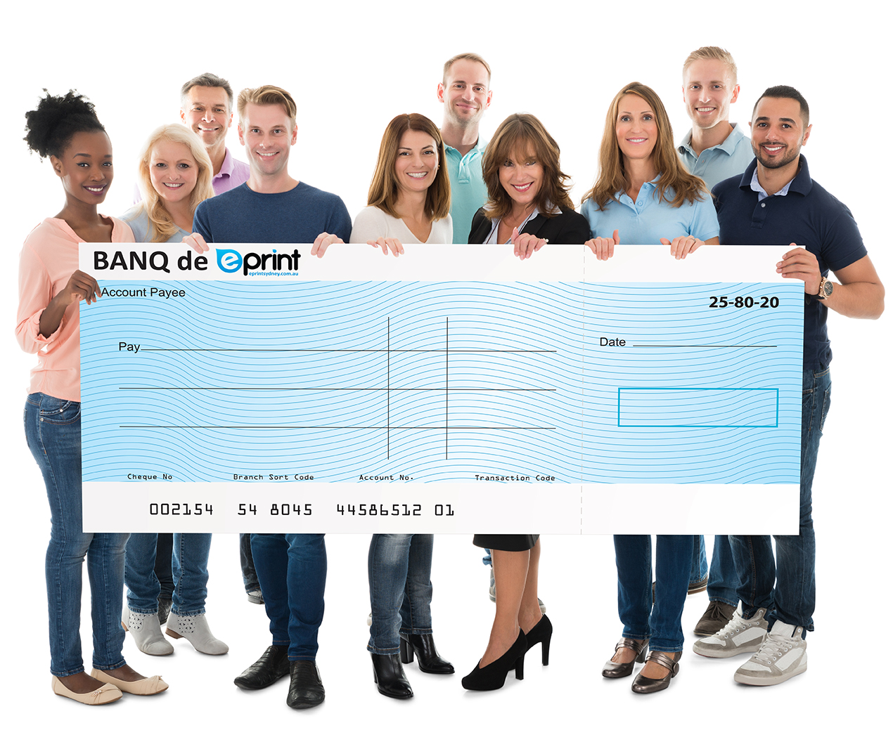 Novelty Cheques Same Day