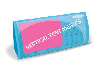 Vertical Tent Menus (Offset)