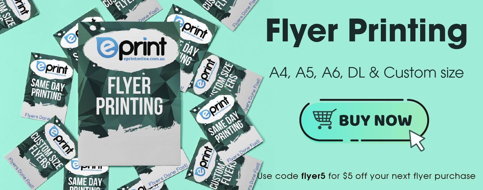 Flyer Discount Banner