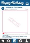 Instagram Party Selfie Frame (Med)