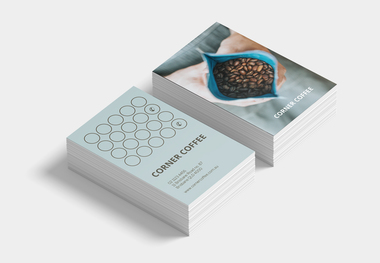 Corner Coffee Loyalty Cards