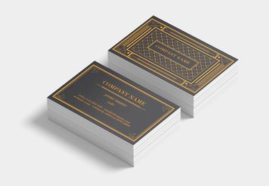90 x 55 business card pattern