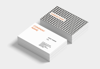 90 x 55 business card triangles