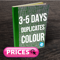 Duplicate Books (Approx. 5 Days) Colour