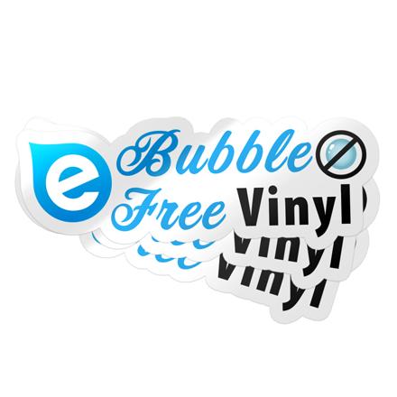Bubble Free Stickers