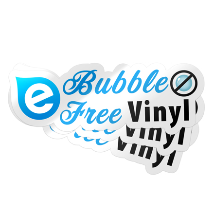 Bubble Free Stickers