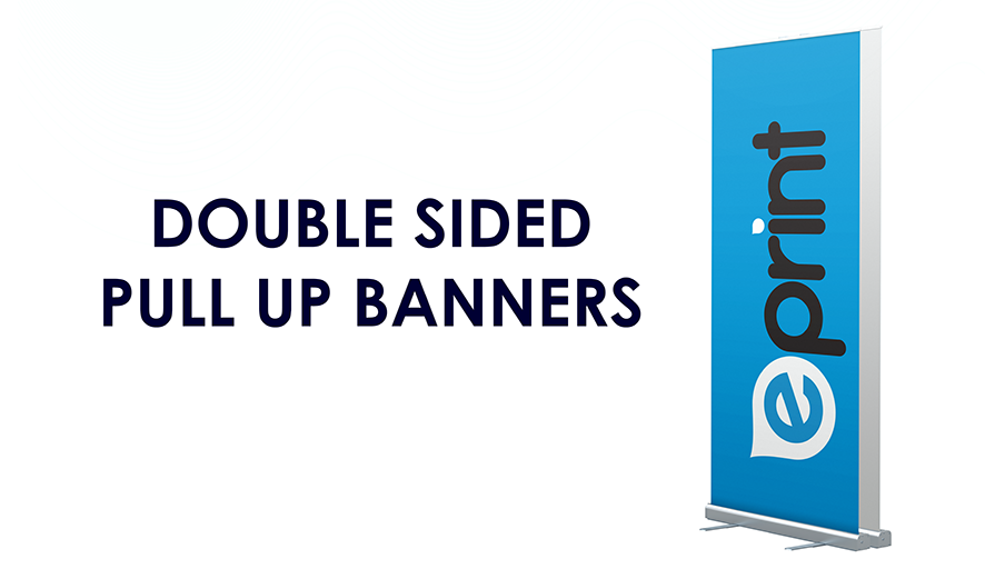 Pull Up Banner Stands (Double-Sided)