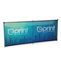 Fence Mesh Banner Printing (APPROX. 3-5 Business Days)
