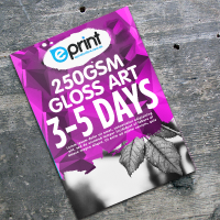 250gsm Gloss Art (3-5 Days)