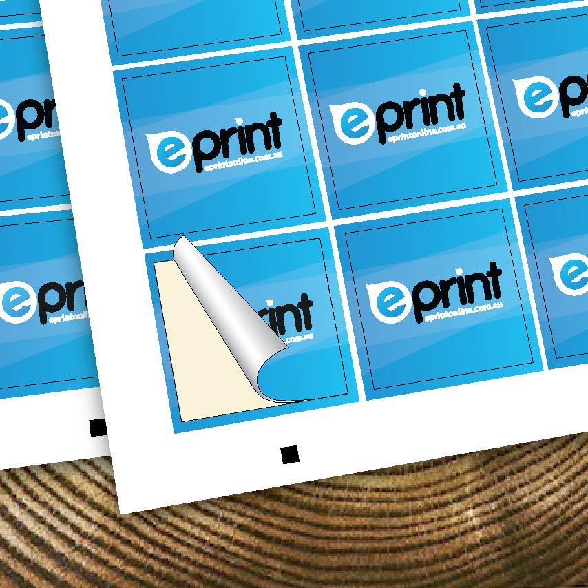 Shape - Stickers: Easy Peel
