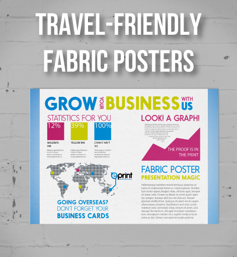 Cloth Fabric Posters Printed In Brisbane