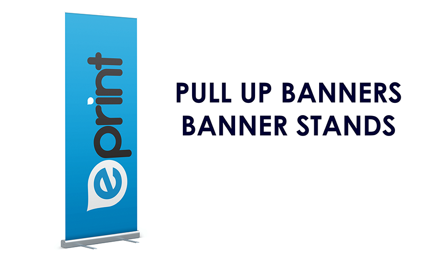 Pull Up Banner Stands (Single-Sided)