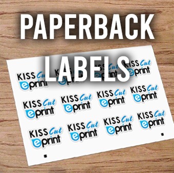 Any Shape Paperback Stickers (kiss-cut)