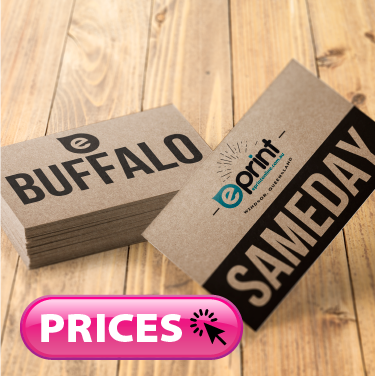 Business Cards Same Day - Buffalo Board