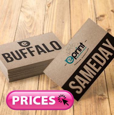 Business Cards Same Day - Buffalo Board