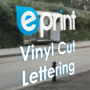 Vinyl Cut Lettering (digital sign writing)