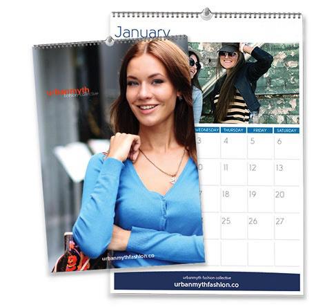 A4 Wall Calendar (Wiro-Bind)