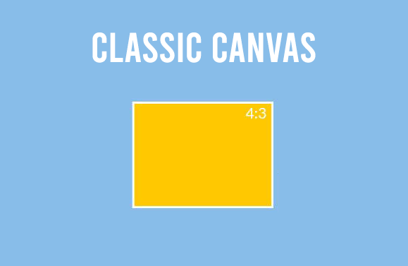 Rectangle Canvas 4:3