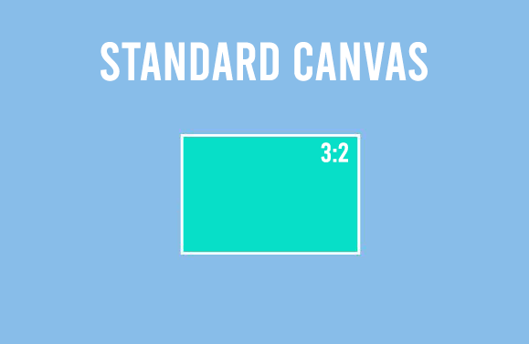Rectangle Canvas 3:2