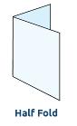 Half Fold - 2 Panel