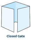 Gate Fold 3 or 4 Panel