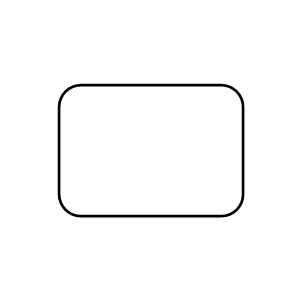 Rectangle (Round Edge)