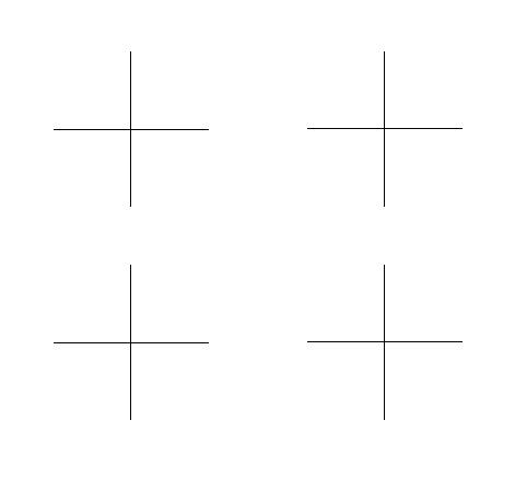4 x Cross
