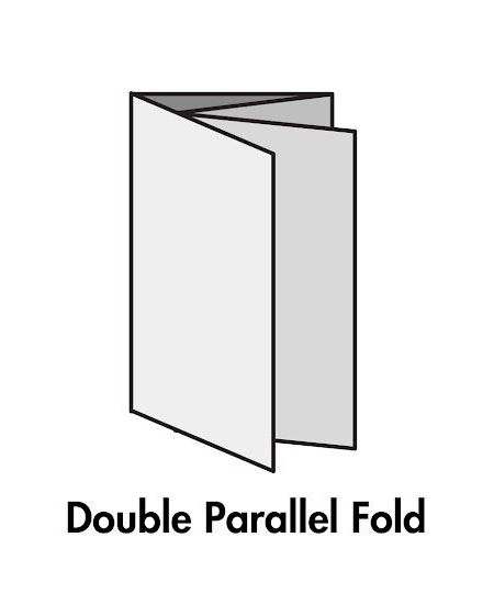 Double Parallel Fold - 4 Panels