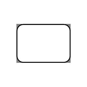Rectangle (Round Edge)