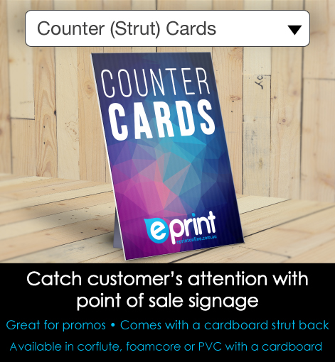 Counter Card- Description