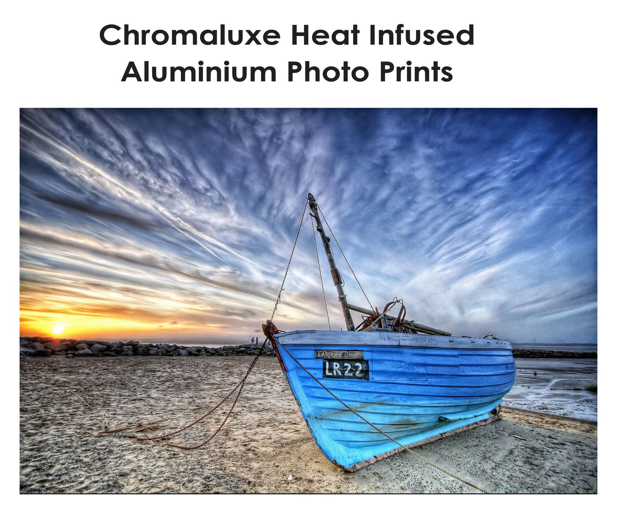 Chromaluxe Heat Infused Aluminium Photo Prints