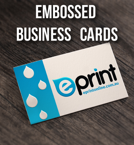 Embossed Business Card ePrint