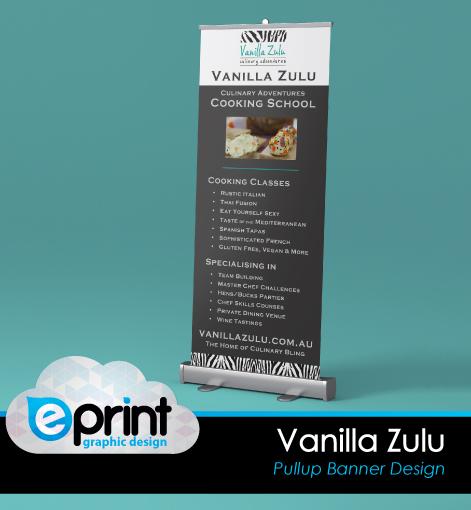 Pullup Banner - Vanilla Zulu