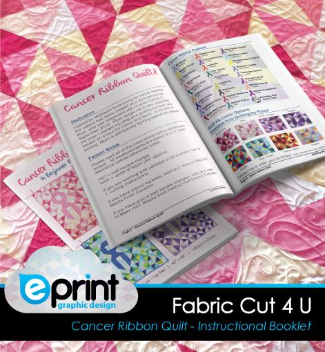 Booklet Design- Fabric Cut 4 U
