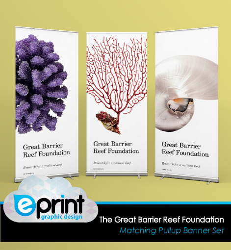 Pullup Banners - Great Barrier Reef Foundation