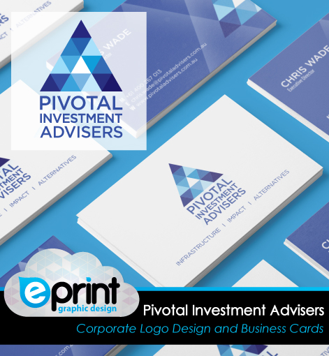 Logo Design and Business Card- Pivotal Investment Advisors