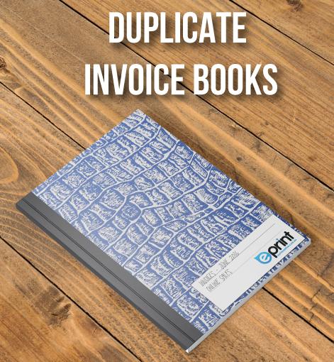 Duplicate Invoice Books - Cover