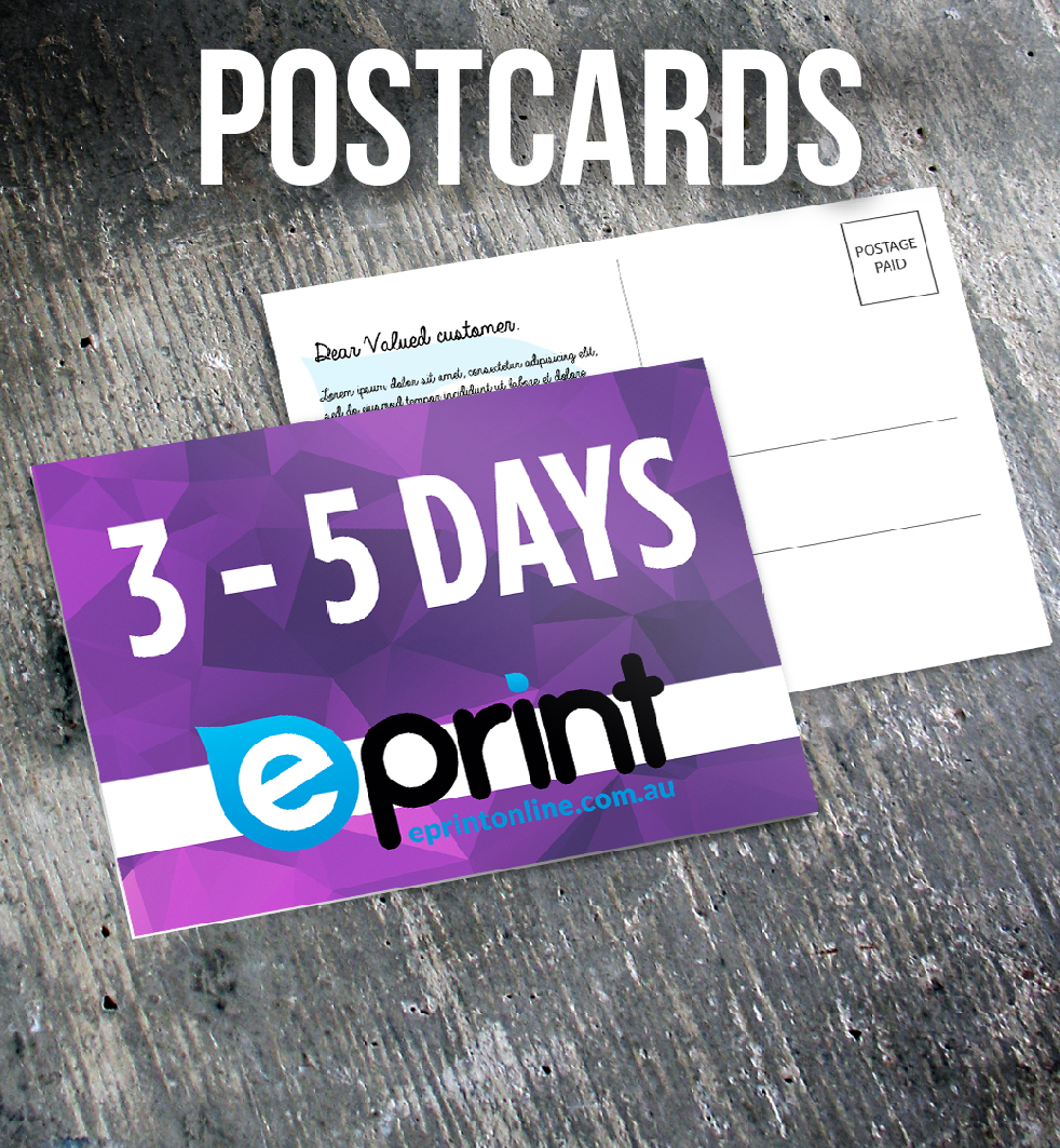 Postcards 3-5 Days_350gsm