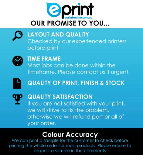 Quality Printing Guarantee