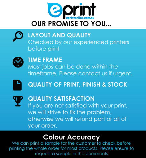 Quality Printing Guarantee- Notepads