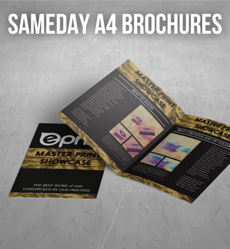 a4 brochure same day