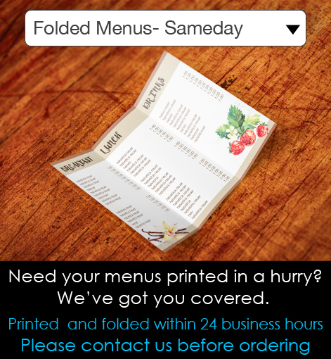 Folded Menus Description