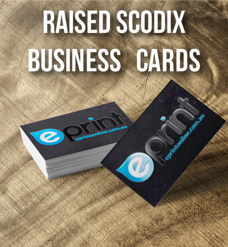Raised Business Cards
