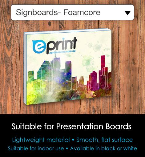 Signboards - Foamcore