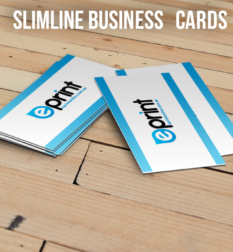 Business cards slimline for Same day print business cards
