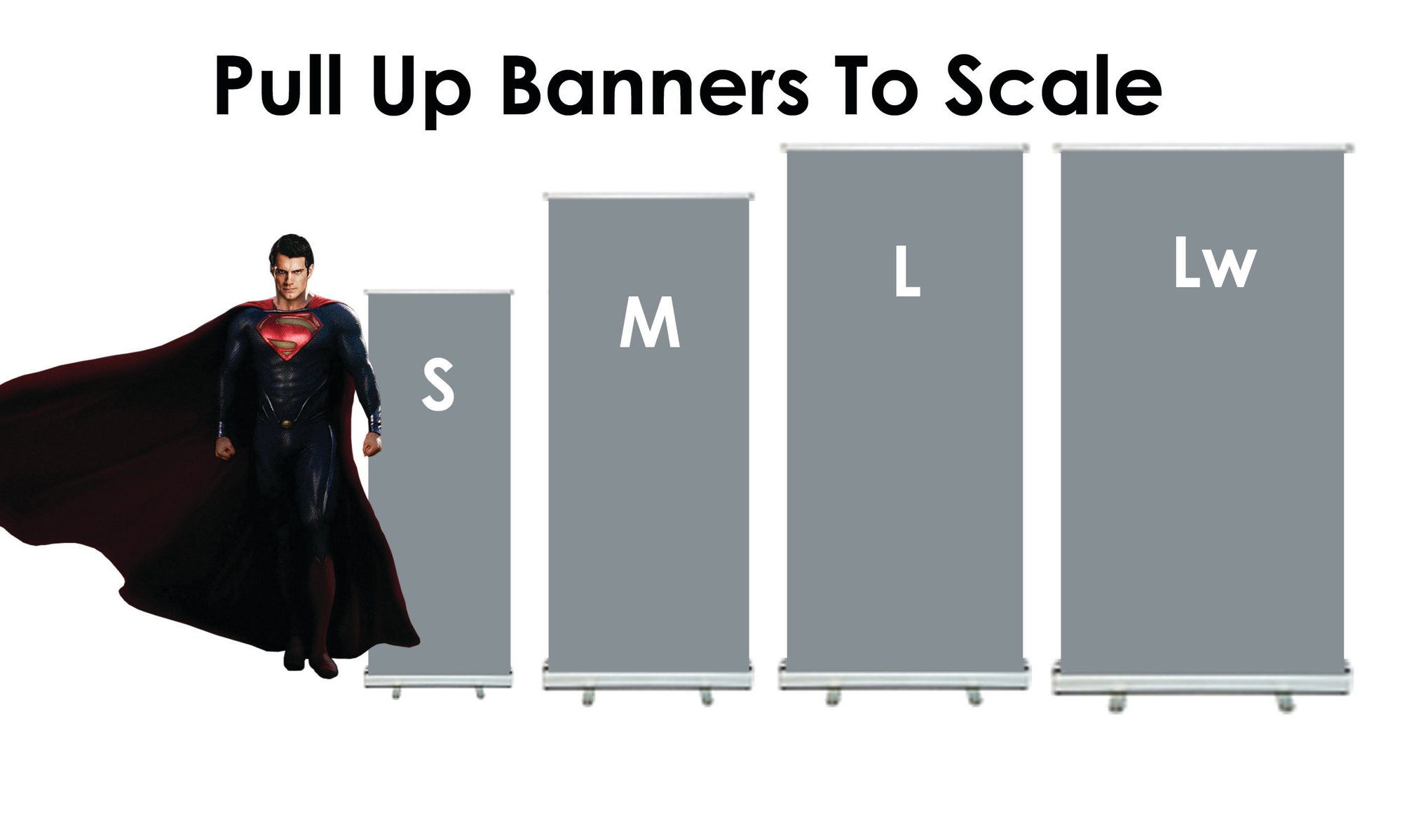 Pull Up Banner Stand Sizes