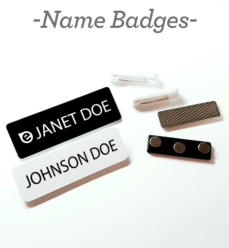 name badges title
